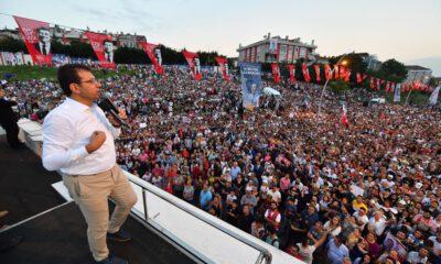 İmamoğlu: Türkiye'nin yarısından fazlasını yöneten bizler büyük başarılar kazanacağız