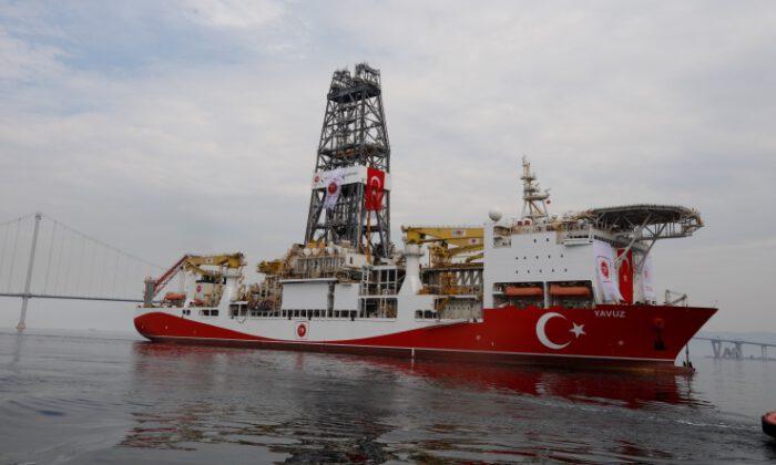 'Yavuz', Akdeniz'e doğru yola çıktı