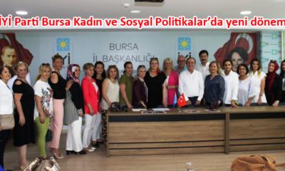 Emine Yıldız, İYİ Parti Bursa Kadın ve Sosyal Politikalardan Sorumlu İl Başkan Yardımcısı oldu
