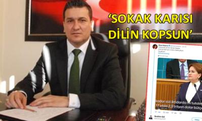 MHP'li Başkan'dan Akşener ve Kaftancıoğlu'na yönelik skandal sözler…