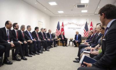 Erdoğan-Trump görüşmesinde dikkat çeken ayrıntı: 'Bizimkilerin niye elleri boş!'