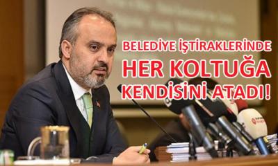 Bursa Büyükşehir Belediye Başkanı Alinur Aktaş, yine gündemde…