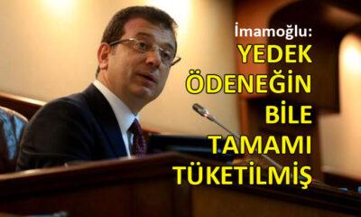 İBB Başkanı İmamoğlu, büyükşehirin ekonomik durumunu açıkladı