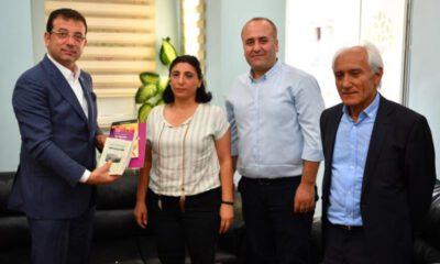 İmamoğlu'ndan HDP il başkanlığına ziyaret: Demirtaş'ı ziyaret etmek istiyorum