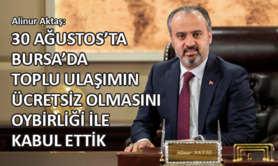 Aktaş'tan, belediye meclisindeki '30 Ağustos' tartışmaları ile ilgili açıklama…
