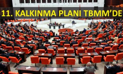 Cumhurbaşkanlığı Hükümet Sistemi'nin ilk kalkınma planı Meclis'e sunuldu