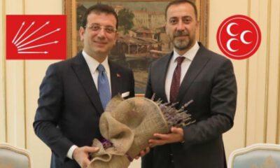 MHP'den Başkan İmamoğlu'na 'bomba' ziyaret!