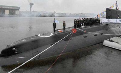 Rus denizaltısında yangın: 14 ölü