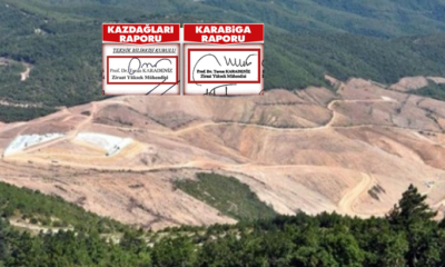 Kaz Dağları dava raporunda imza skandalı