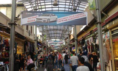 Bursa tarihi çarşıda alışveriş, otomobil sahibi yapıyor