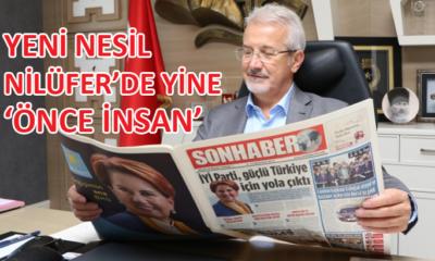 Belediye Başkanı Turgay Erdem, 'yeni nesil Nilüfer'i anlattı
