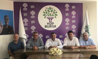 Orhan Sarıbal ve Hüseyin Akkuş'tan HDP Bursa İl Başkanlığı'na ziyaret