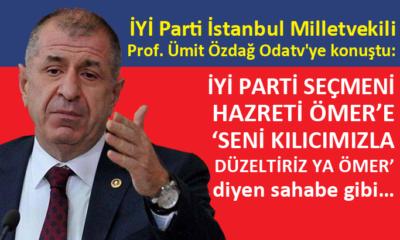 İYİ Parti Milletvekili Prof. Ümit Özdağ'dan çarpıcı açıklamalar
