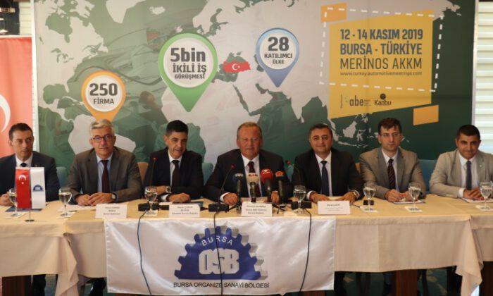 Otomotivin kalbi 12 – 14 Kasım'da Bursa'da atacak