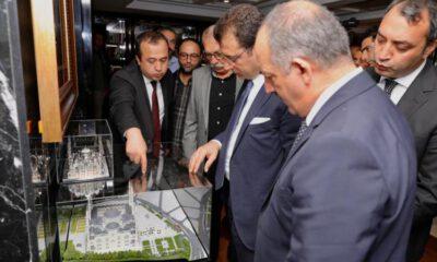 İmamoğlu'ndan Büyük Çamlıca Camii ziyareti
