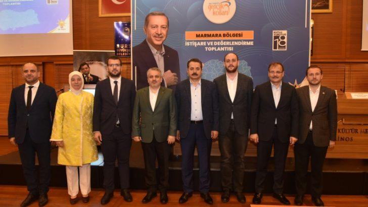 AK partili gençler, Bursa'da buluştu