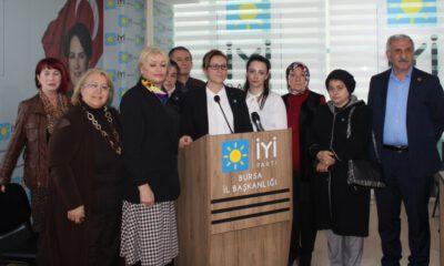 İYİ Parti'den 'kadına şiddete hayır'