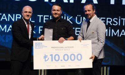Nilüfer Belediyesi çalışanına Design Week Turkey'den ödül