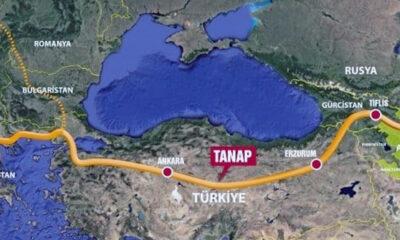 TANAP Projesi'nin Avrupa'ya bağlantısı açıldı