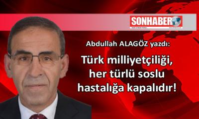 Türk milliyetçiliği, her türlü soslu hastalığa kapalıdır!