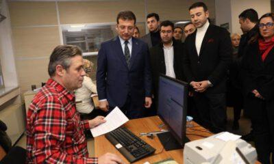 İmamoğlu, Kanal İstanbul'a itiraz dilekçesini sundu