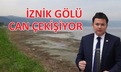 Erkan Aydın'dan İznik Gölü'nün kurtarılması için araştırma önergesi