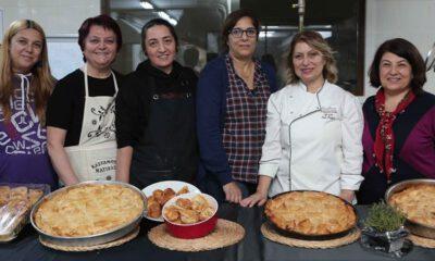 Kadın dernekleri, Bursa'nın yerel lezzetlerini öğreniyor