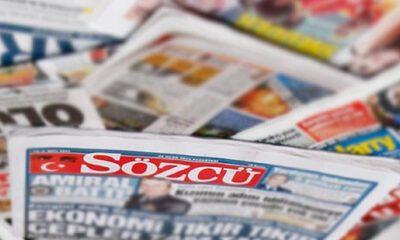 Sözcü'ye gazetecilik cezası…