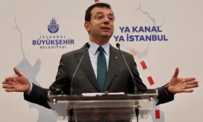 İmamoğlu, Kanal İstanbul'a neden karşı olduğunu 15 maddede açıkladı