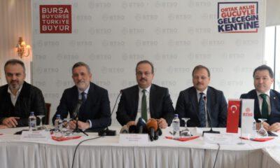 Bursa iş dünyasından 'Yeniden Büyük Bursaspor' kampanyası