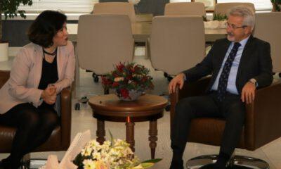 Mimarlardan Başkan Turgay Erdem'e Ziyaret…