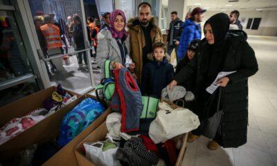 TOFAŞlı taraftarlardan Elazığ ve Malatya'daki depremzedelere yardım