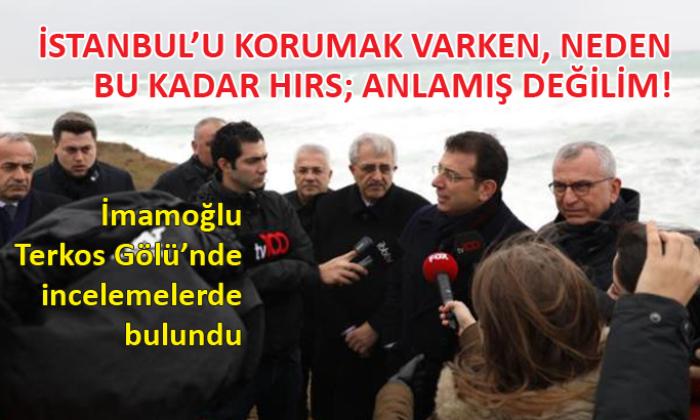 Ekrem İmamoğlu, 'Kanal İstanbul'la ilgili konuştu