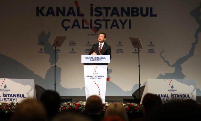 İmamoğlu: Türkiye, Kanal İstanbul'a mecbur bir ülke değildir