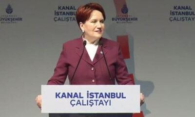 Meral Akşener'den 'Kanal İstanbul' çıkışı