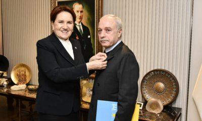Emekli Albay Erdal Sarızeybek, İYİ Parti'ye katıldı