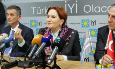 Meral Akşener Bursa'da: Kongrelerde adaylar o salondan el ele çıkacak
