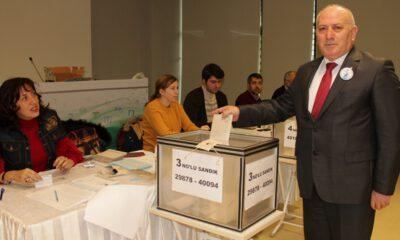 İMO Bursa Şube'de Mehmet Albayrak, güven tazeledi