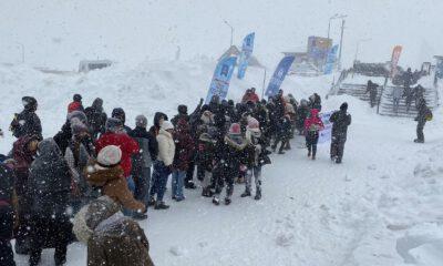 Uludağ'da 'kış şenliği' coşkusu