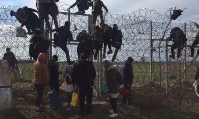 Binlerce göçmen Edirne'den Yunanistan'a geçiş yaptı