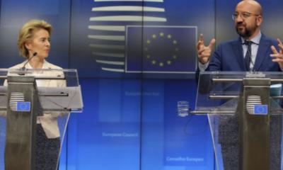 Brüksel'de şaşırtan Erdoğansız basın toplantısı