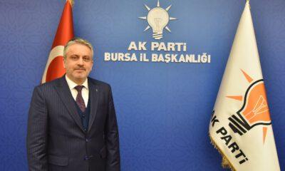 AK Parti Bursa İl Başkanı Salman'dan 'sosyal mesafe' vurgusu