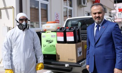 Bursa Büyükşehir Belediyesi, coronaya karşı teyakkuzda
