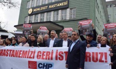 'Bursa Devlet Hastanemizi geri istiyoruz!'