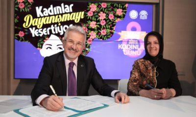 Nilüfer Belediyesi kadınlarla el ele