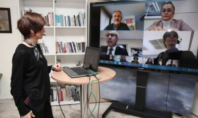 Nilüfer Belediyesi'nde telekonferanslı toplantı