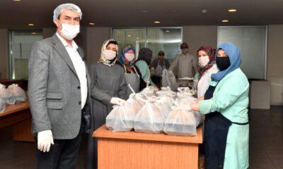 Osmangazi'de sıcak yemek dağıtımı başladı