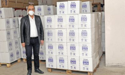 Mudanya Belediyesi'nden 4 bin 166 aileye ramazan paketi
