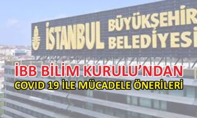 İBB Bilim Kurulu'ndan, İstanbul ile ilgili görüş ve öneriler