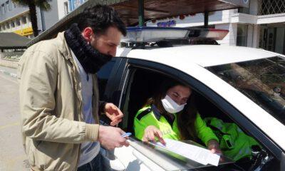 Bursa'da markete gittiğini söyleyen sürücüye 3 bin 150 lira ceza